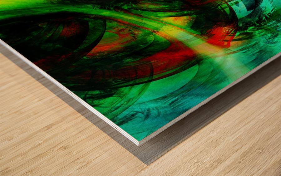 Circusia  Wood print
