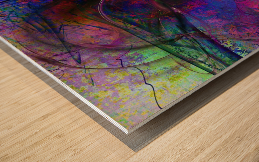 Zardoz by Jean-François Dupuis  Wood print