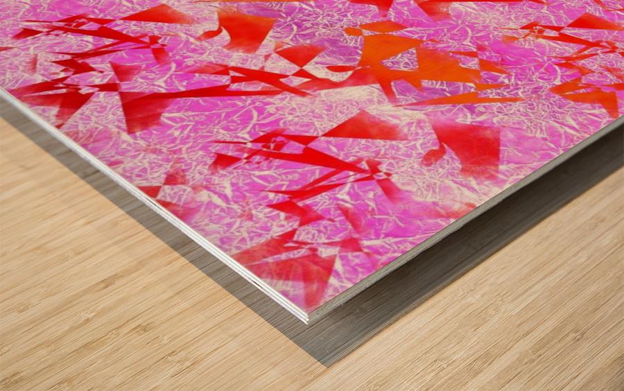 Ice In Sunshine 1 Wood print