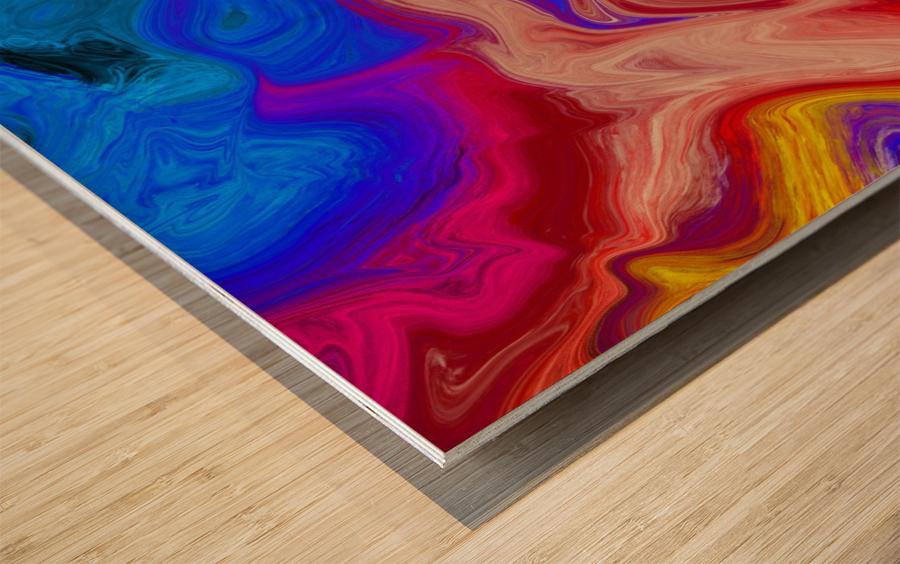 Blender Wood print