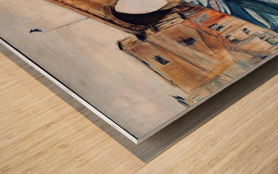 Marseille Impression sur bois