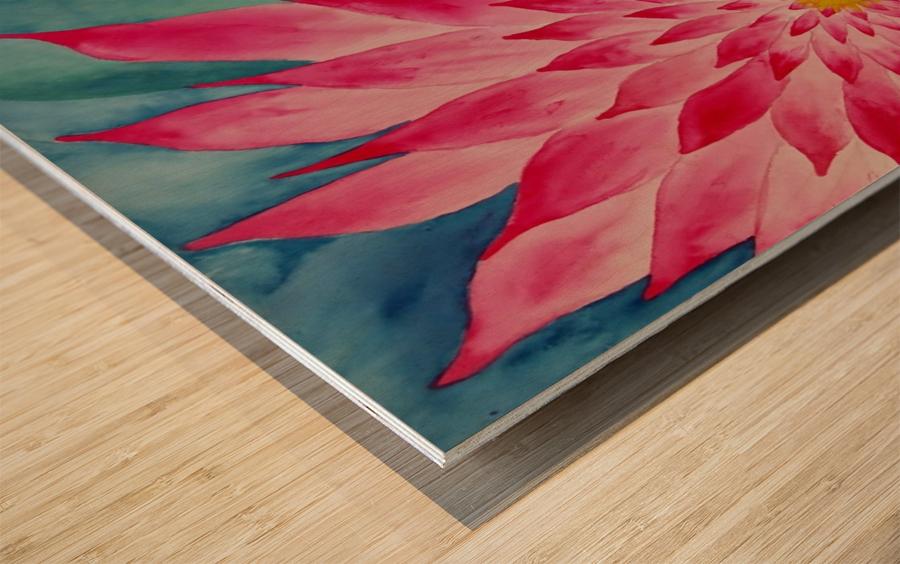 Lomi Lomi Love Wood print