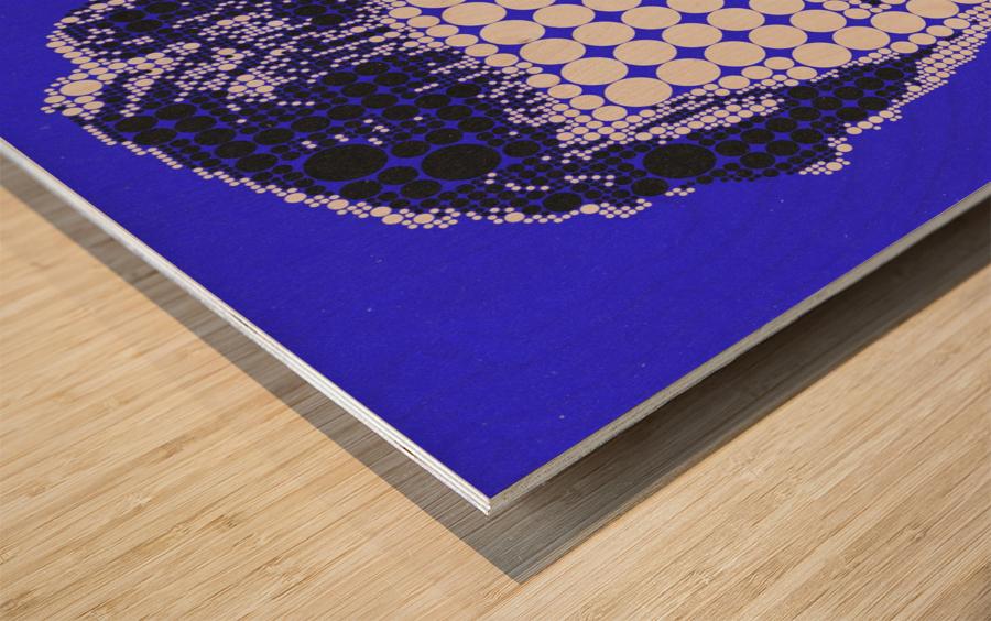 James Hetfield Wood print