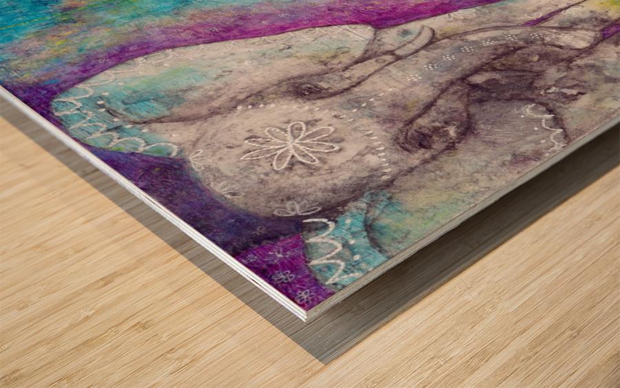 Josephine & Lily Wood print