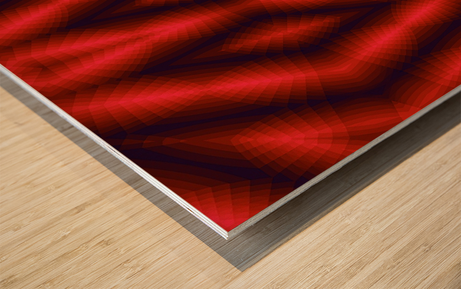 A.P.Polo - Der Schrei 4.0 Wood print