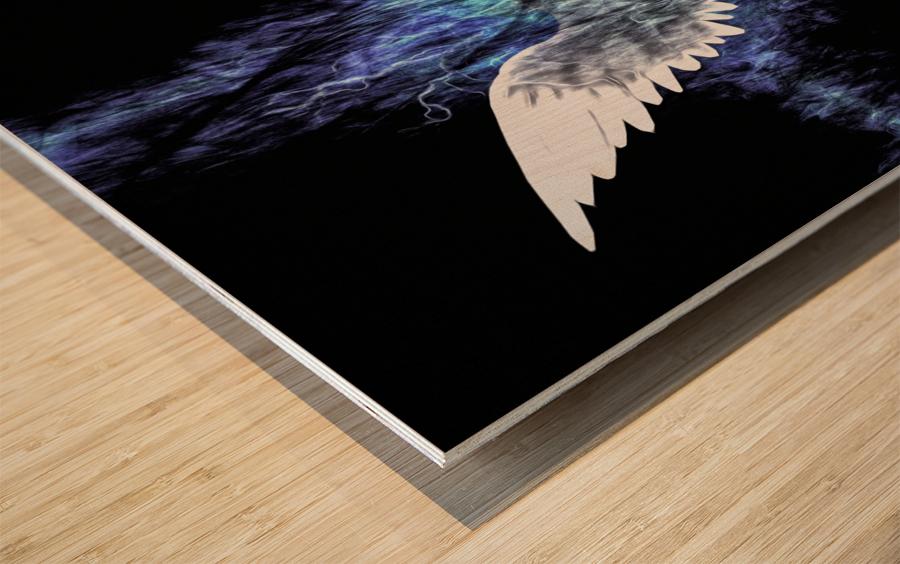 Wings Painting Wood print
