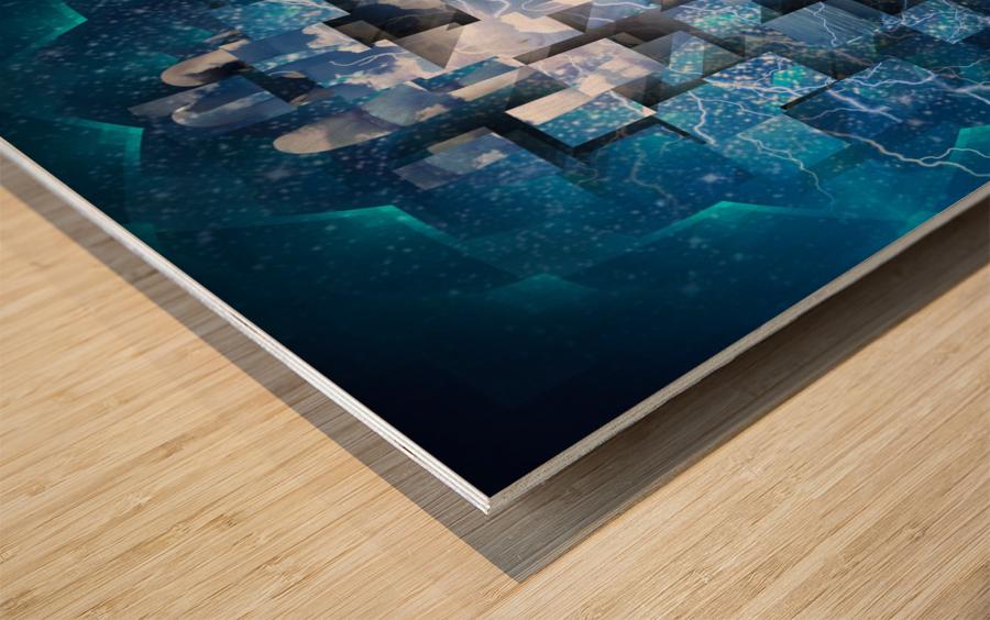 Power Revealed Wood print
