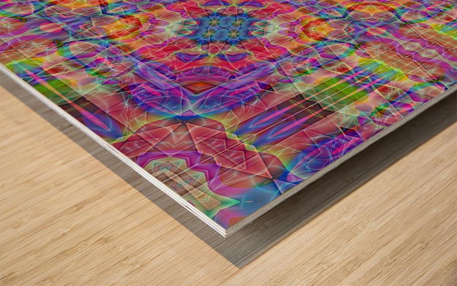 A.P.Polo - Santa Cruz Wood print