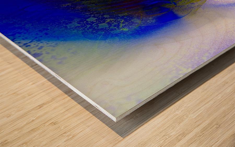 Azitum 2 Wood print