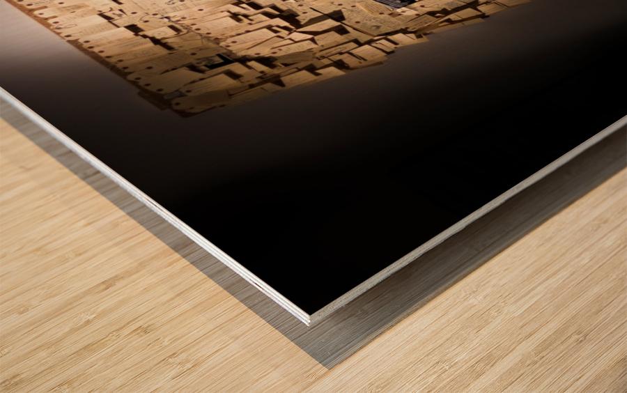 Addled Wood print