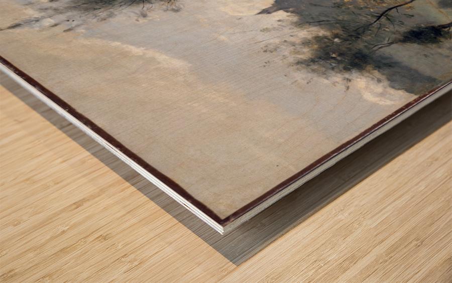 Canteleu Wood print