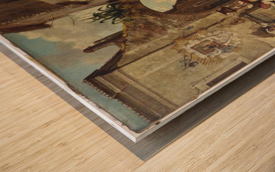 Marchands ambulants a Tivoli Wood print