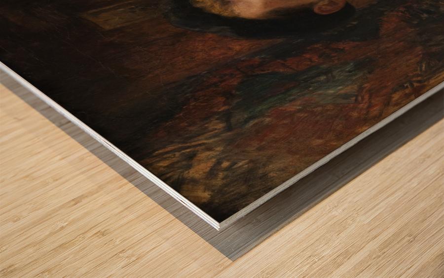 Catechisme dans une eglise Wood print