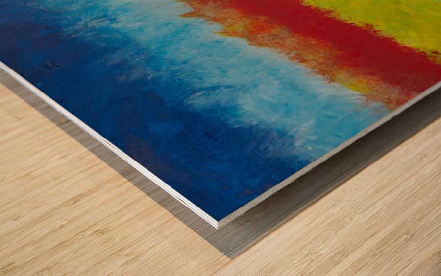 Horizon Wood print