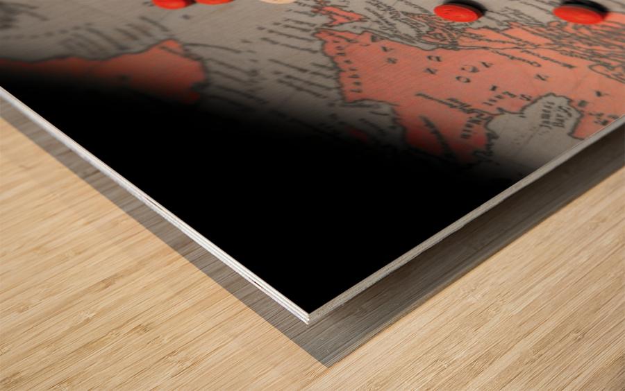 2020 Wood print
