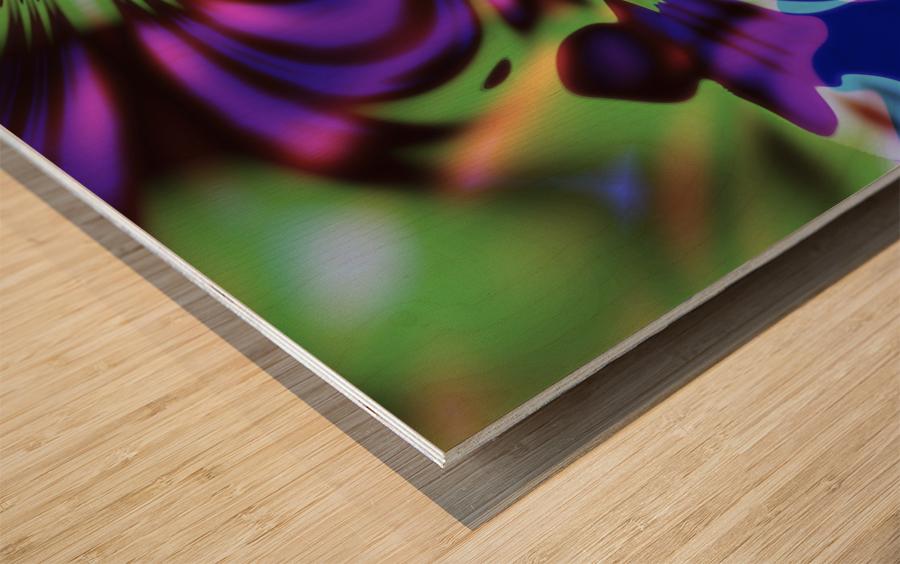 Give_It_A_Blow Wood print