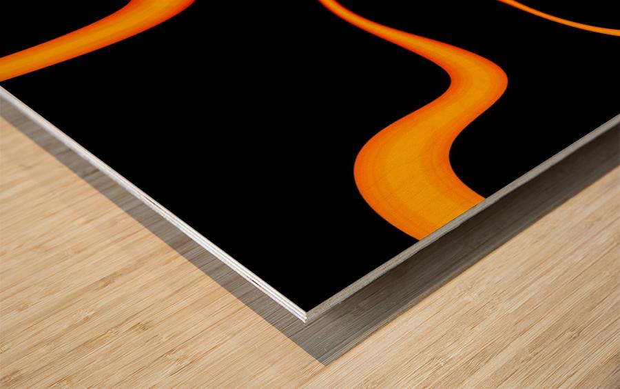 Lightening_Nude Wood print