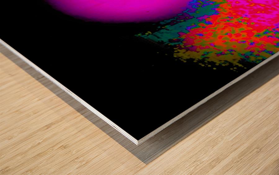 Organic Synergism 41 Wood print