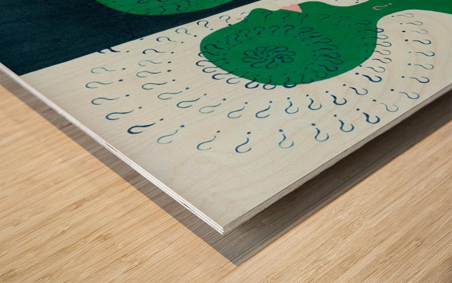 Humans Wood print