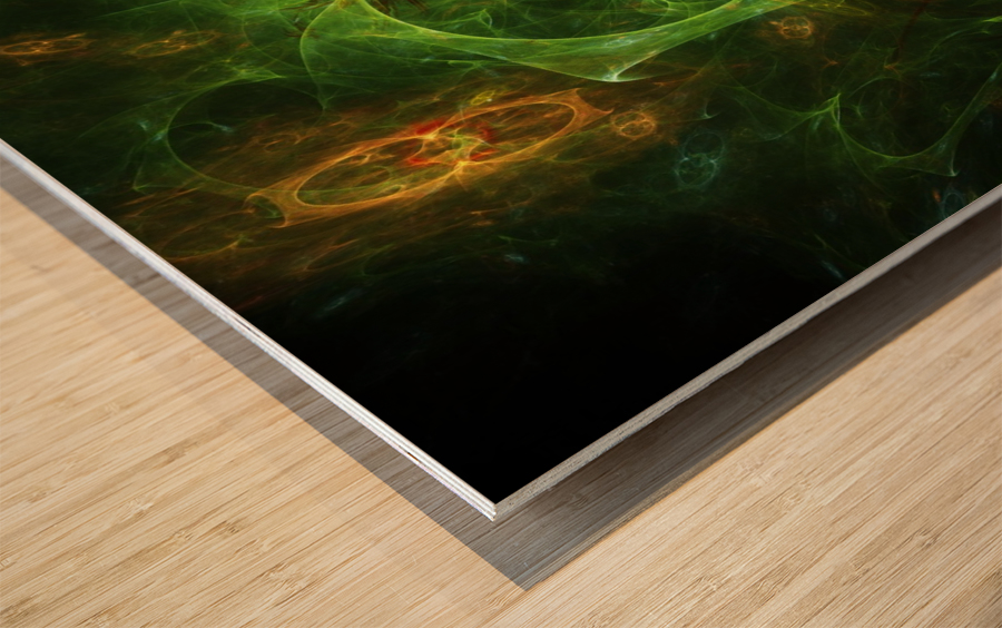Biosecret e Wood print