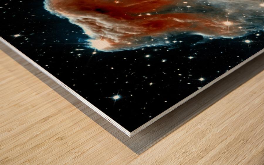 Horsehead Nebula In Space Wood print