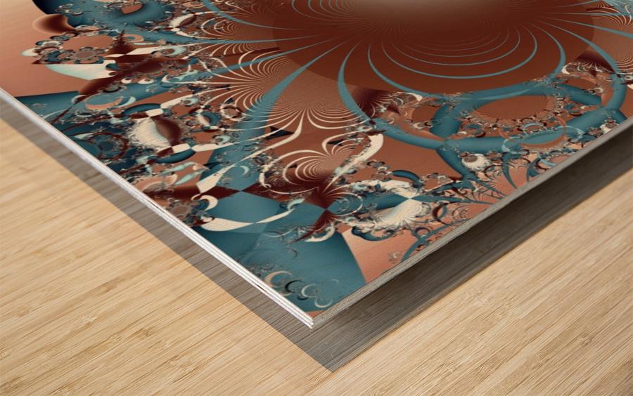 Gargantuan_Hatching Wood print