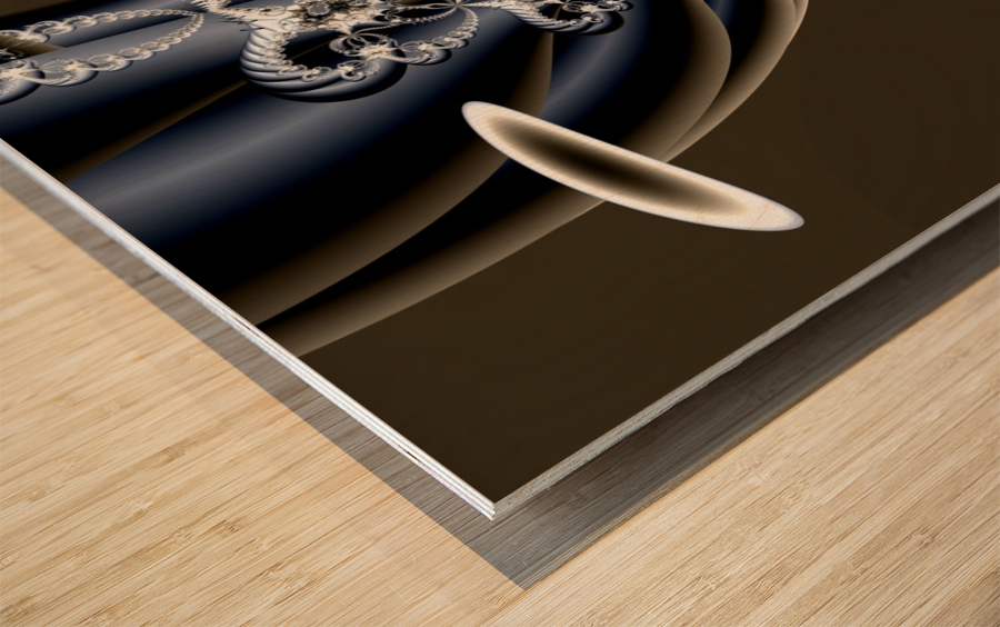 Installation Wood print