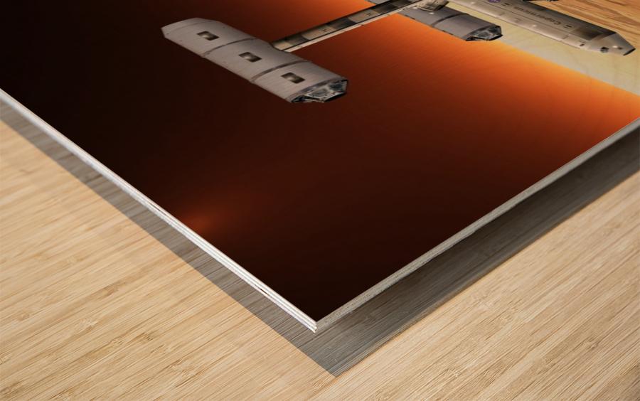 Marship OUTRIG 3 Wood print