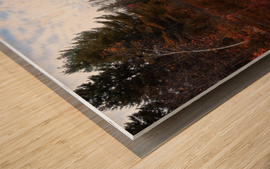 Reflet Impression sur bois