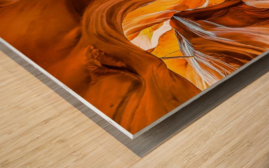 Upper Antelope Canyon 7 Wood print