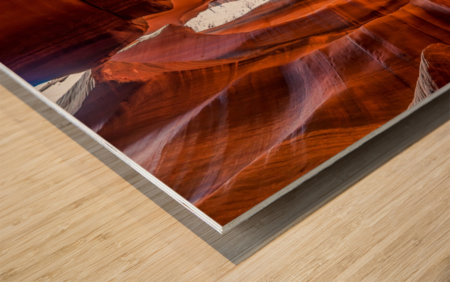 Upper Antelope Canyon 10 Wood print