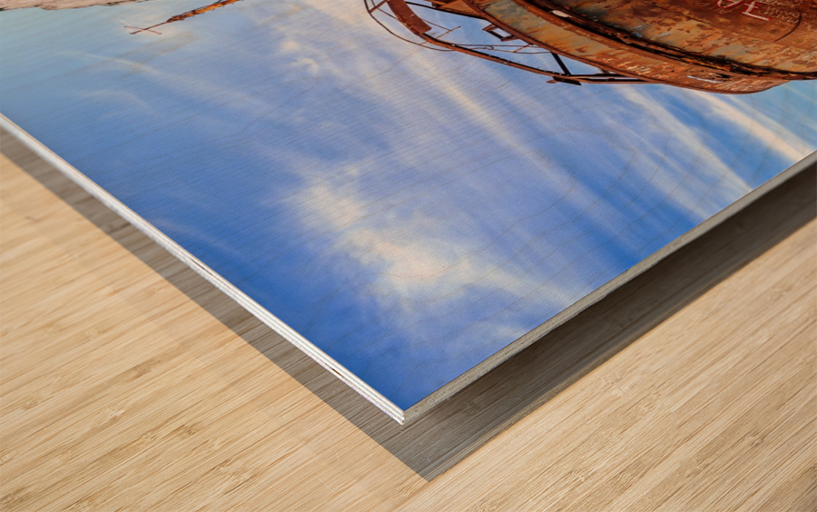 _TEL3227 Wood print