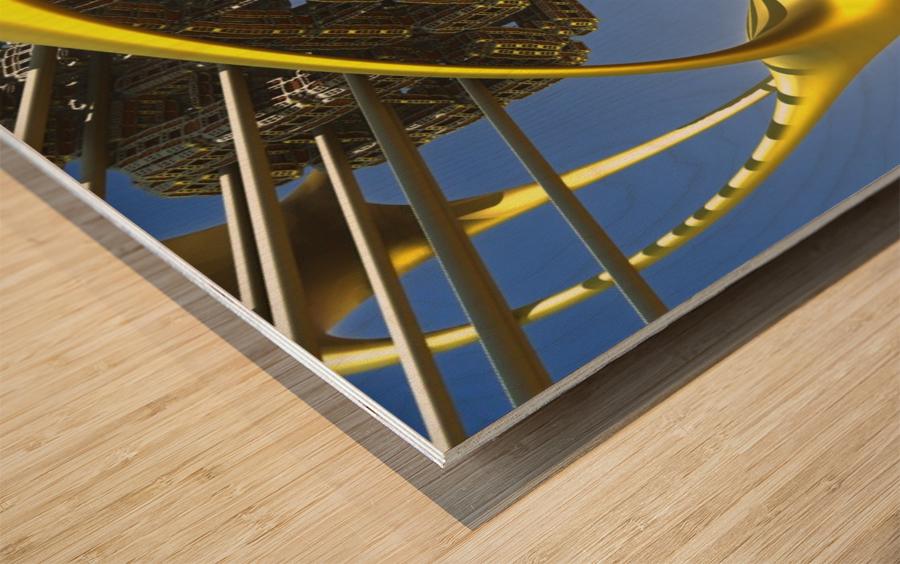 Vogazim by Jean-Francois Dupuis  Wood print
