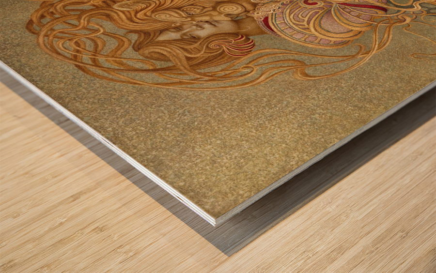 LA_FORZA Wood print