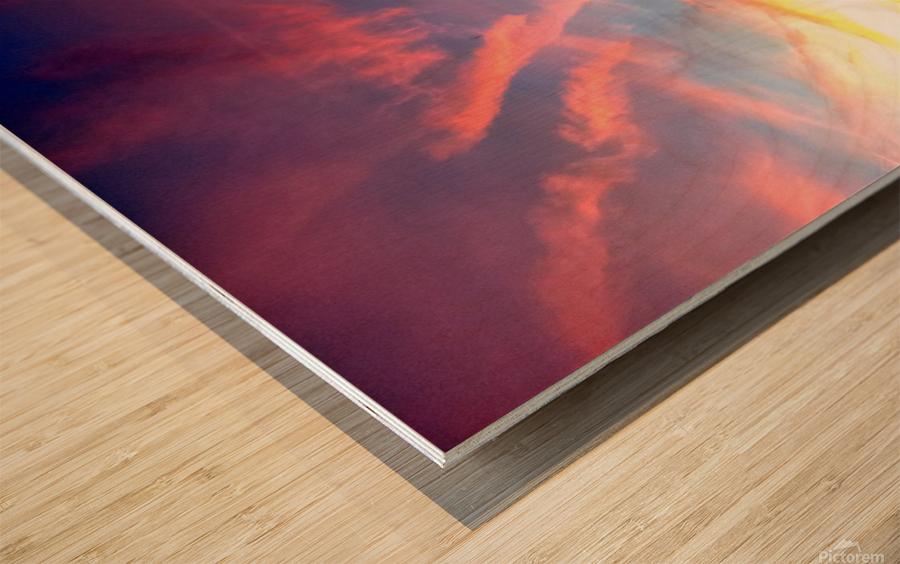 nube 58 Wood print