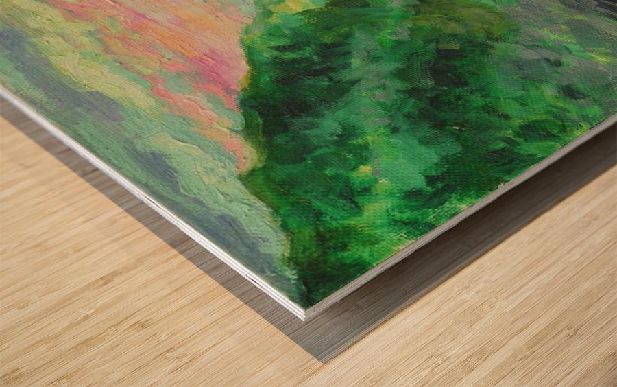Miracle Wood print