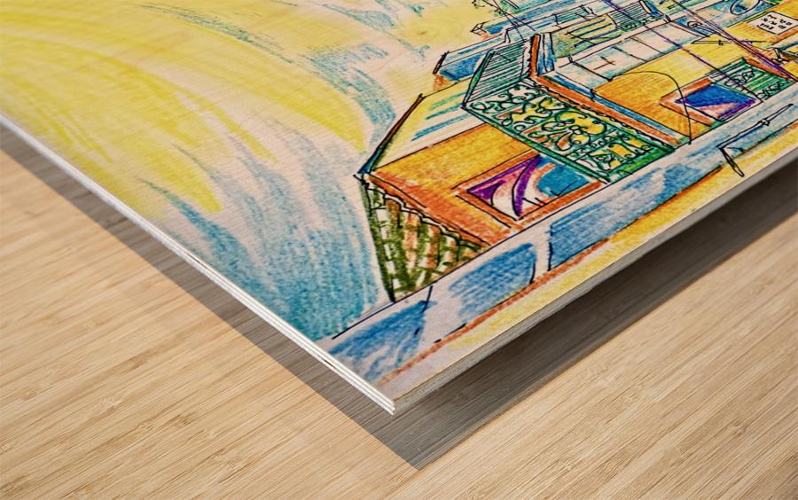 Journey_of_Memories_The_Weekend Wood print