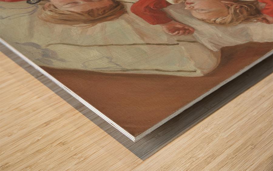 Golden_Slumbers Wood print