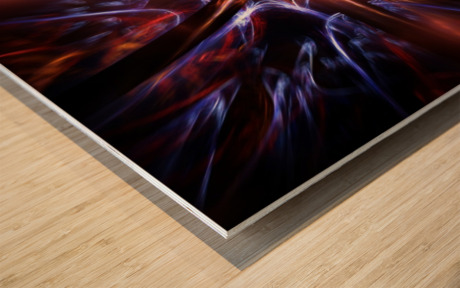 Syndrome Wood print