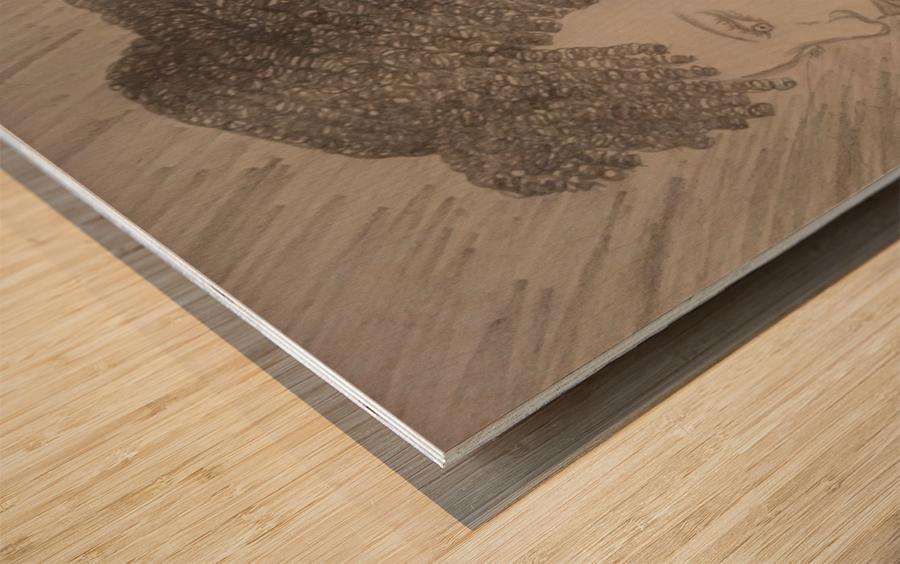 Day Dreamer Wood print
