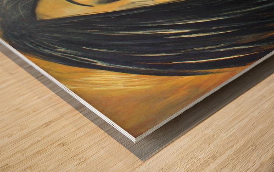 L Extase Wood print