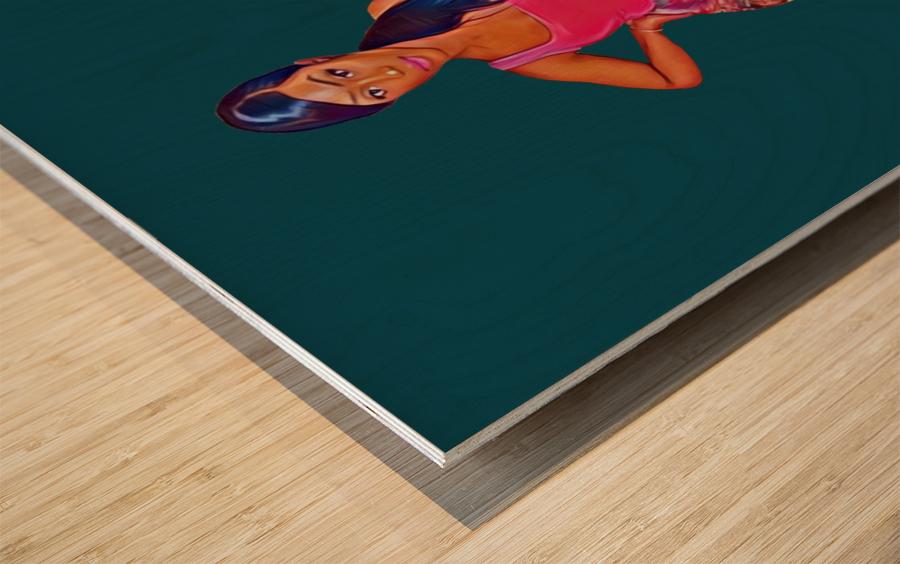 purposeful Wood print