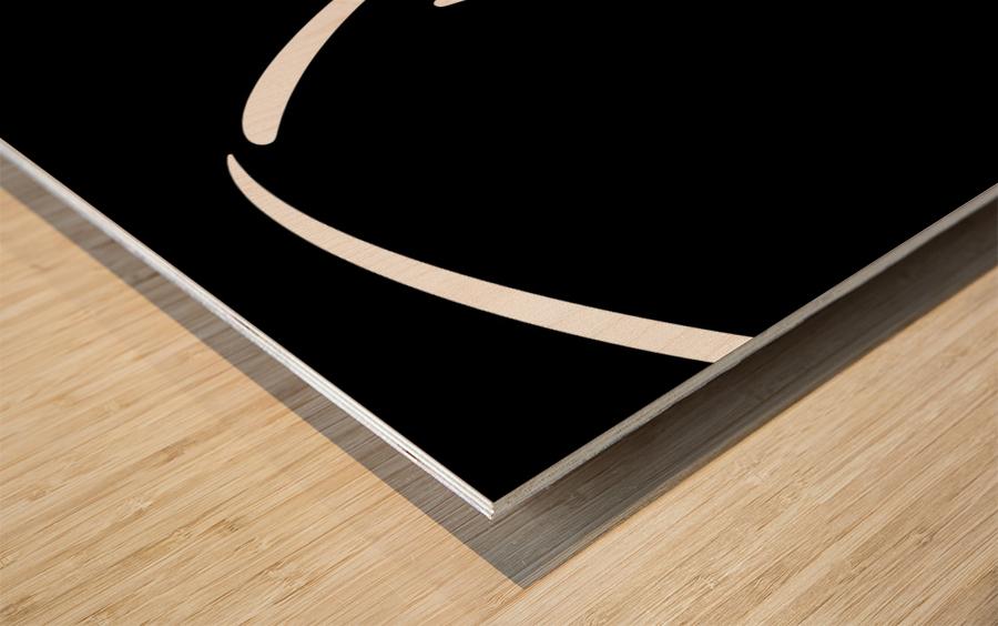 Nude 30 Wood print