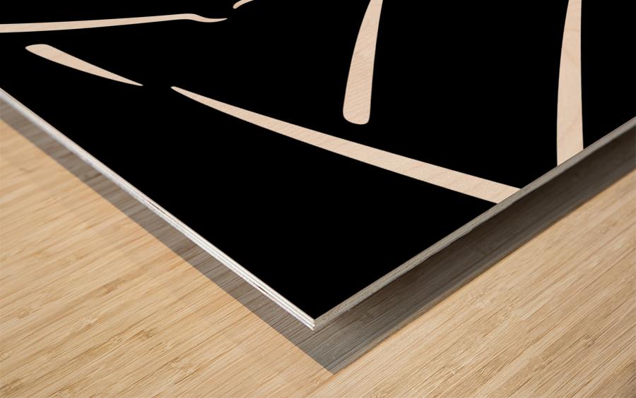Nude 32 Wood print