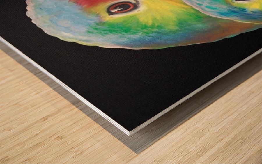 Sam and awesam Wood print