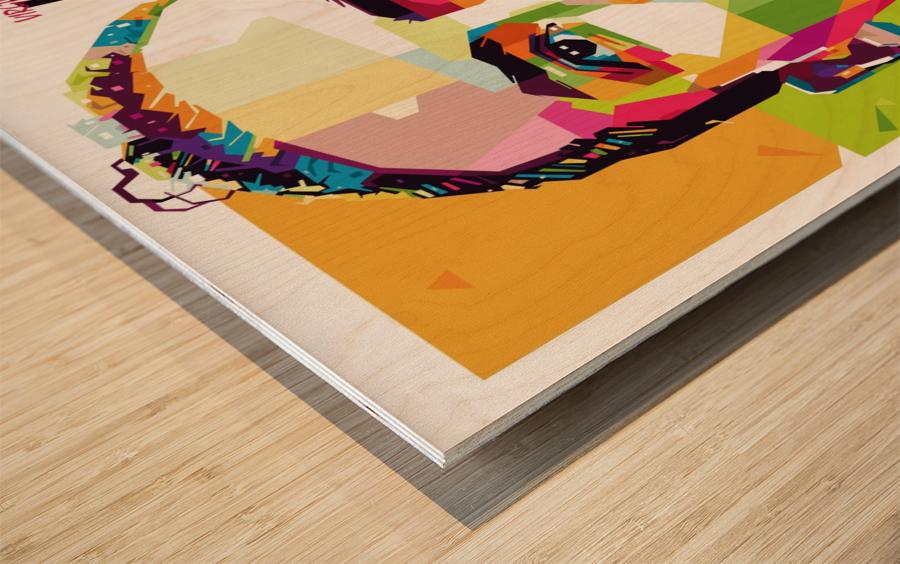 Virgil van dijk Wood print