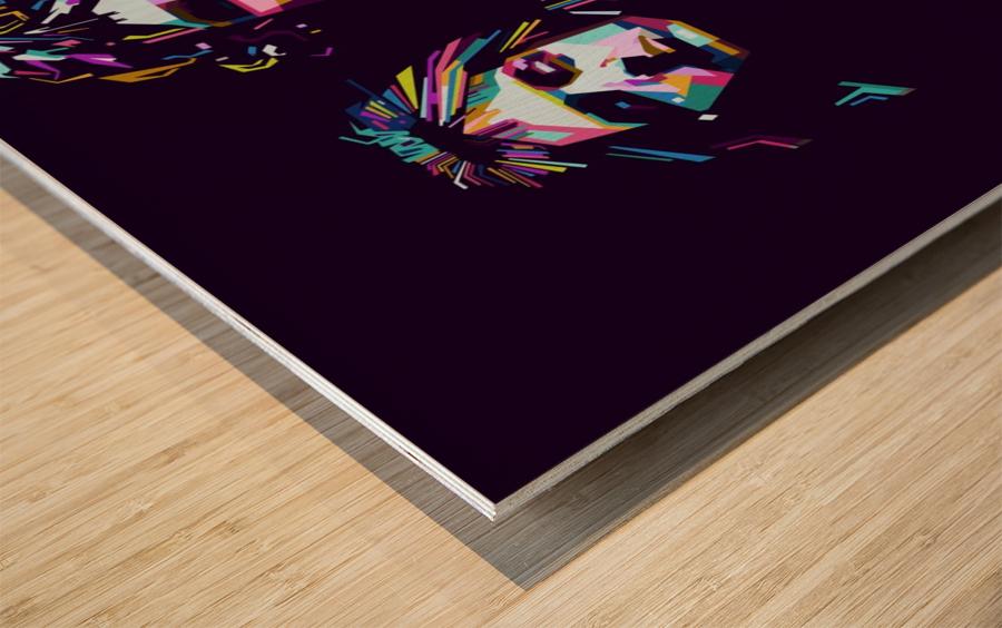 Queen Wood print