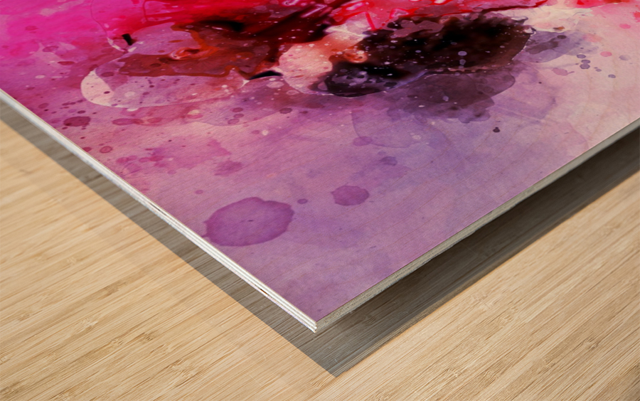 Gianna and kobe bryant Wood print