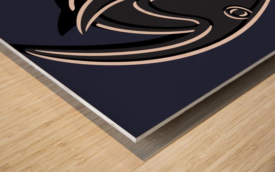Pasiphaë Wood print