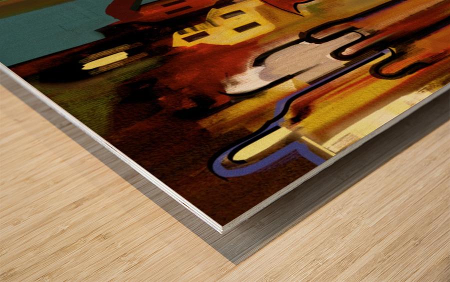 0206 Wood print